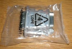 DVI - VGA 変換アダプター