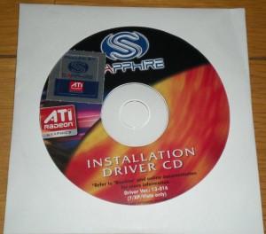 デバイスドライバ CD-ROM